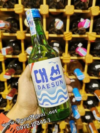 Rượu Soju Daesun Hương Vị Truyền Thống